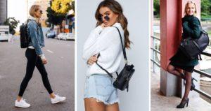 plecaki damskie moda italiana