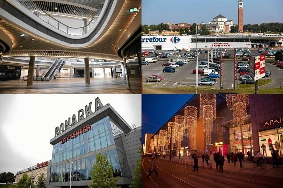 Kraków sklepy
